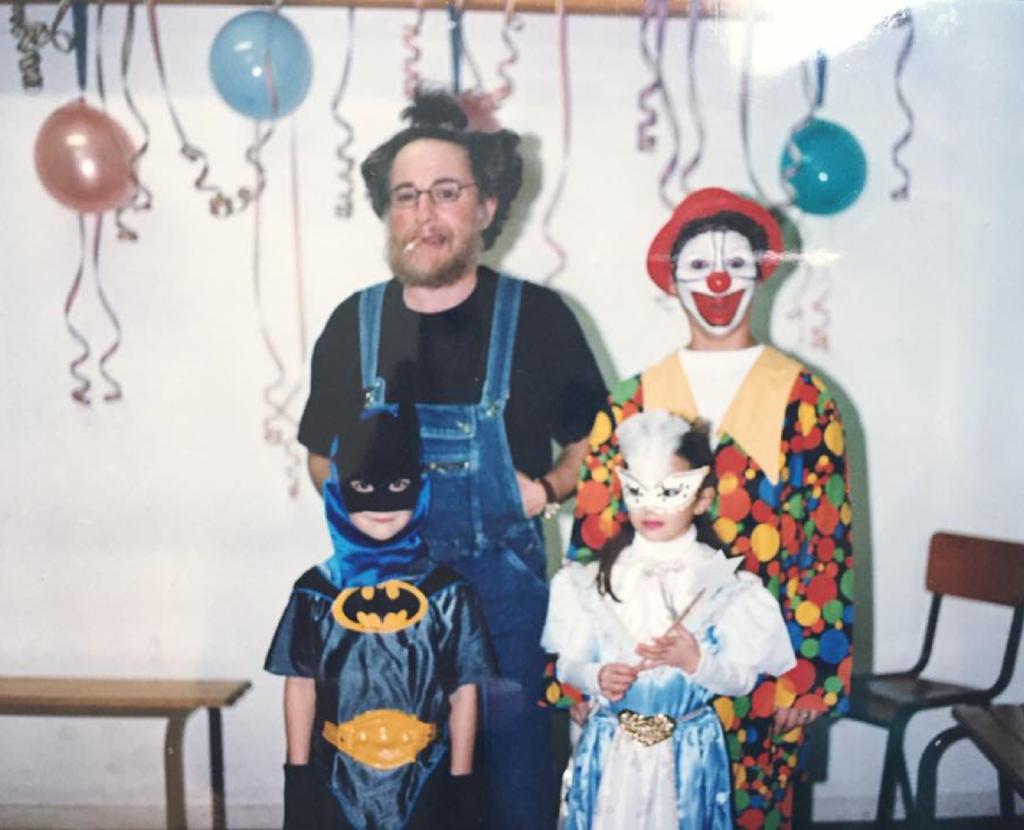 Photo de famille Leriche déguisés